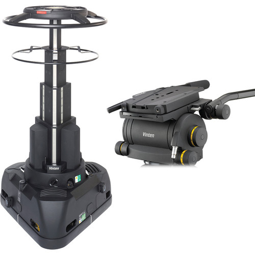 Vinten Quattro SE, VRI Box & Vector 950i Pan and Tilt Head System