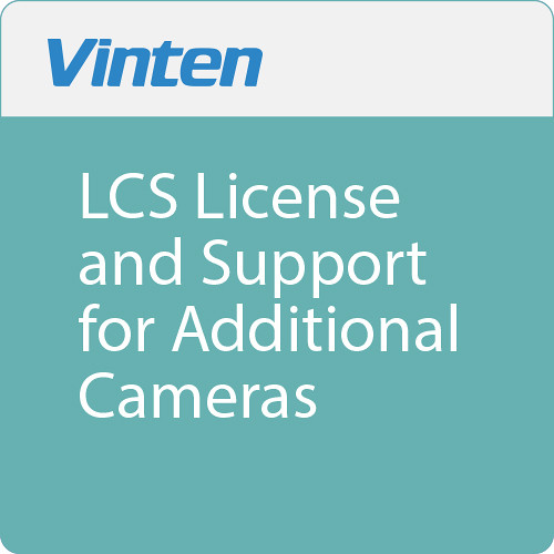 Vinten LCS License and Support for Additional Cameras