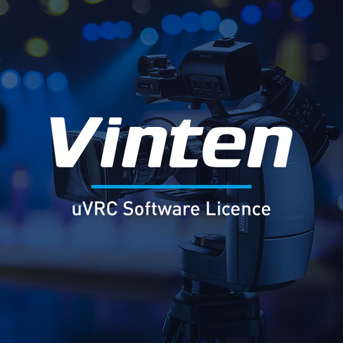 Vinten Distributed Network Control License Module for µVRC System