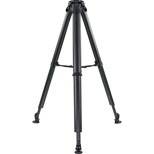 Vinten Flowtech 75 Carbon Fiber Tripod with Mid-Level Spreader and Rubber Feet