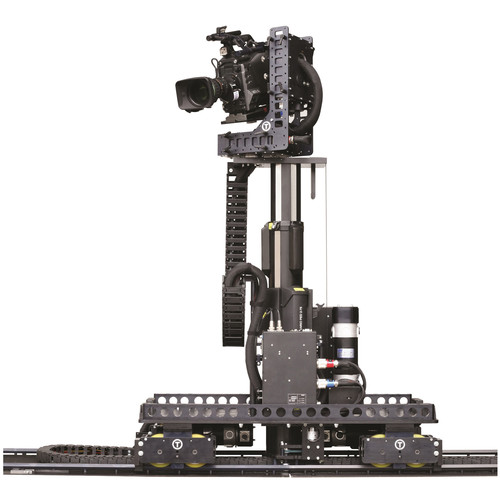 Vinten Hexagon Track Dolly and Motorized Column with Robotic Head