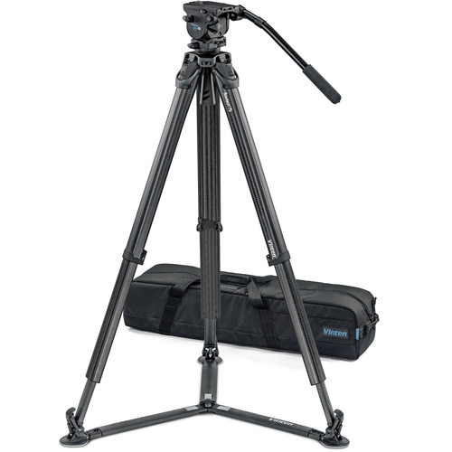 Vinten System Vision blue5 FT GS Head, Tripod, and Ground Spreader Kit