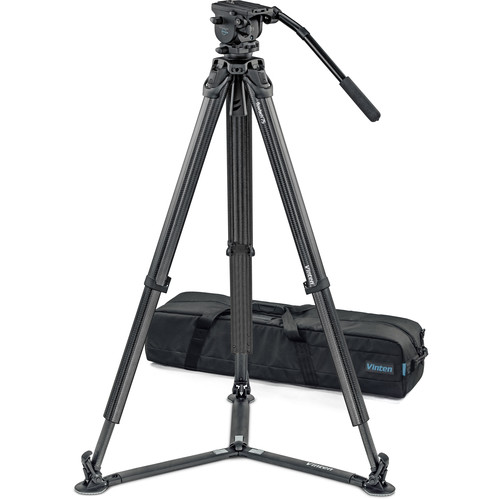 Vinten System Vision blue FT GS Head, Tripod, and Ground Spreader Kit
