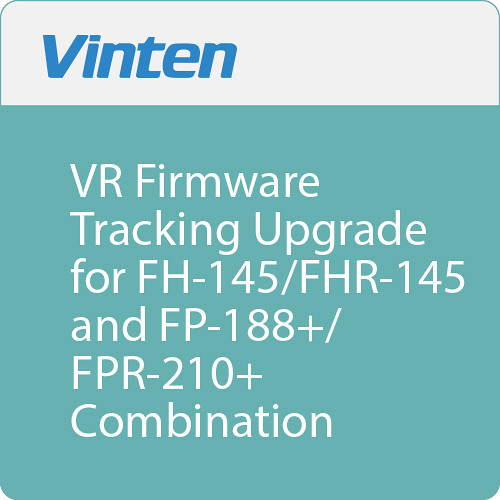 Vinten VR Firmware Tracking Upgrade for FH-145/FHR-145 and FP-188+/FPR-210+ Combination