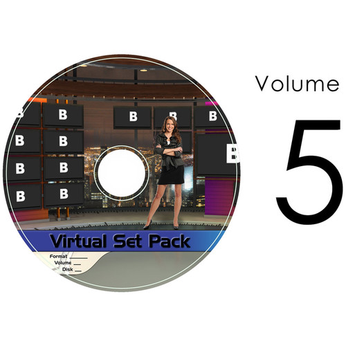 Virtualsetworks Virtual Set Pack Volume 5 for TriCaster Virtual Set Editor (Download)