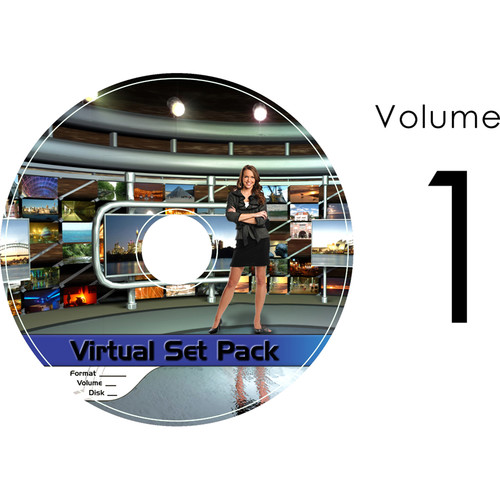 Virtualsetworks Virtual Set Pack 1 for TriCaster Virtual Set Editor (Download)