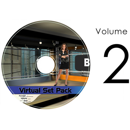 Virtualsetworks Virtual Set Pack 2 for TriCaster Virtual Set Editor (Download)