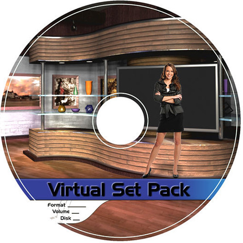 Virtualsetworks Virtual Set Pack 3 for Wirecast (Download)