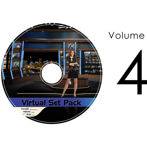 Virtualsetworks Virtual Set Pack 4 for TriCaster Virtual Set Editor (Download)