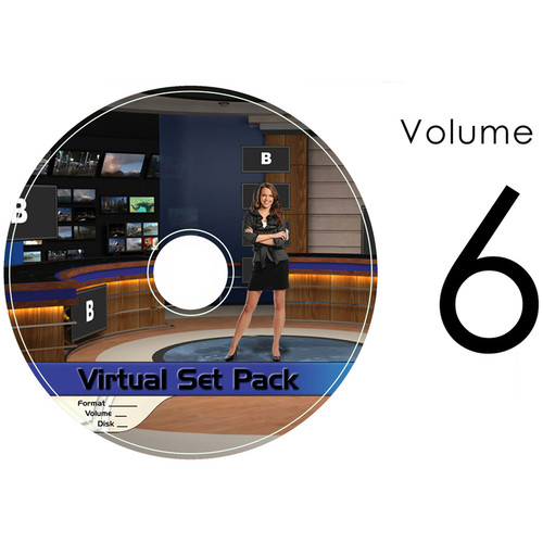 Virtualsetworks Virtual Set Pack 6 for TriCaster Virtual Set Editor (Download)