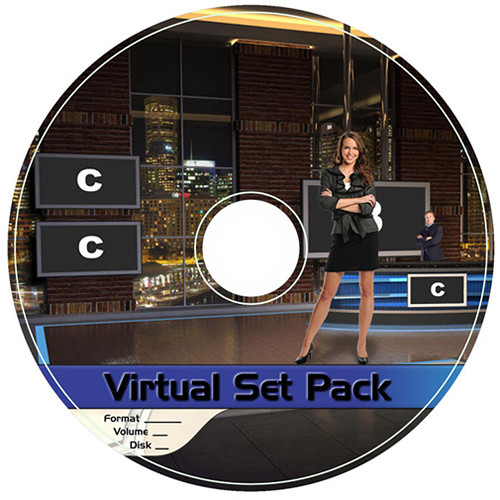Virtualsetworks Virtual Set Pack 7 for TriCaster Virtual Set Editor (Download)