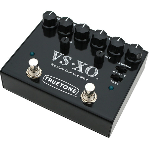 Truetone VS-XO V3 Series Premium Dual Overdrive Pedal for Guitar or Bass