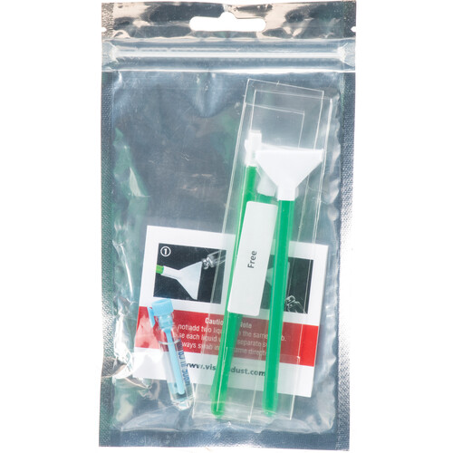 VisibleDust EZ Sensor Cleaning Kit Mini with 1.0x Green Vswabs and VDust Plus