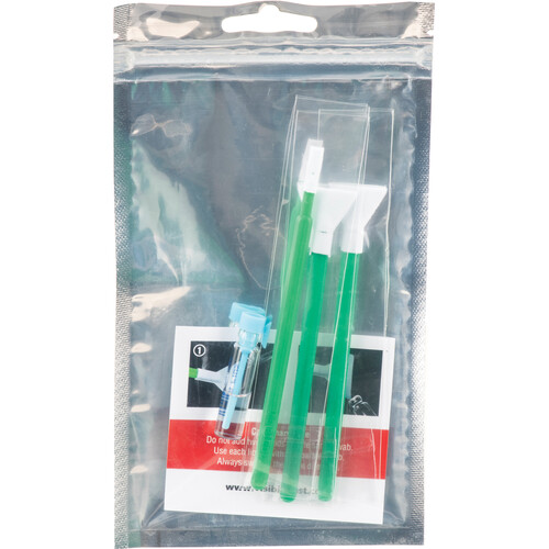 VisibleDust EZ Sensor Cleaning Kit Mini with 1.6x Green Vswabs and VDust Plus