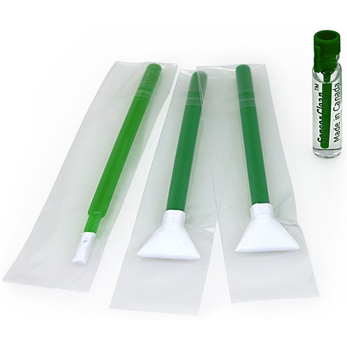 VisibleDust EZ Sensor Cleaning Kit Mini with 1.0x Green Vswabs and Sensor Clean