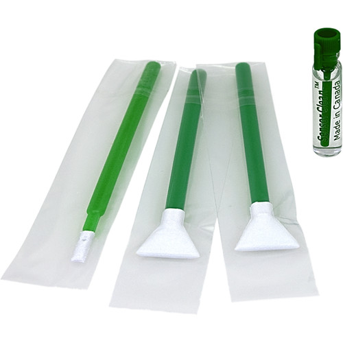 VisibleDust EZ Sensor Cleaning Kit Mini with 1.3x Green Vswabs and Sensor Clean