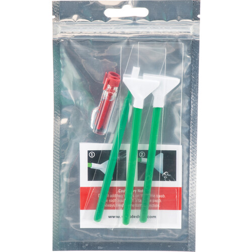 VisibleDust EZ Sensor Cleaning Kit Mini with 1.0x Green Vswabs and Smear Away