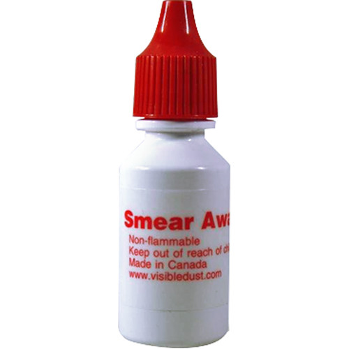 VisibleDust Smear Away Liquid Sensor Cleaning Solution (.5oz/15ml)