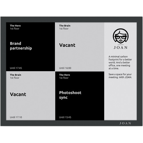 "Visionect JOAN Board 13.3"" E Ink Carta Electronic Paper Screen (Black)"