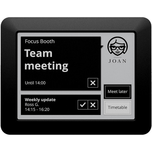 """Visionect JOAN Manager 6"""" Touchscreen Interactive E Ink Electronic Paper Screen (Black)"""