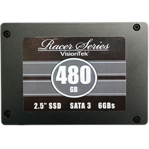 "VisionTek Racer Series 2.5"" SATA 3.0 SSD (480GB)"