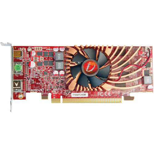 VisionTek Radeon HD 7750 Small Form Factor Graphics Card with HDMI Outputs