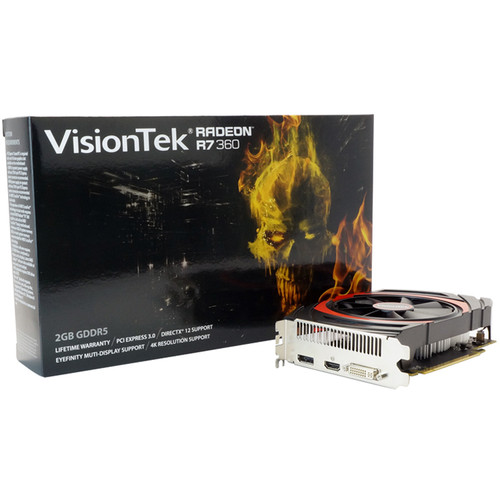 VisionTek Radeon R7 360 Graphics Card