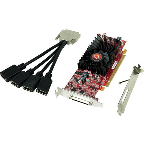 VisionTek Radeon HD 5570 4-Port HDMI/VHDCI Graphics Card