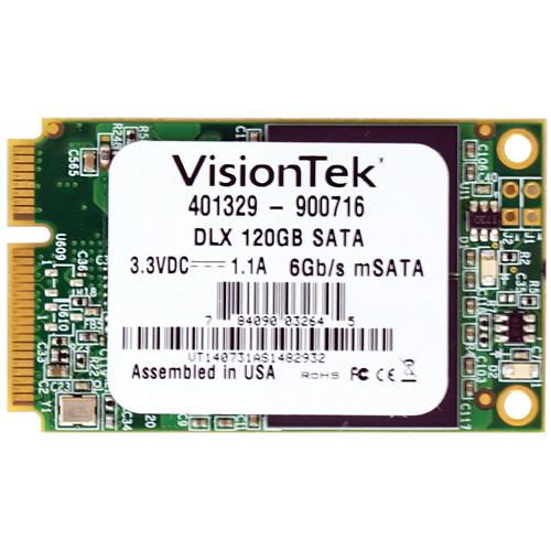 VisionTek mSATA DLX Solid State Drive (120GB)