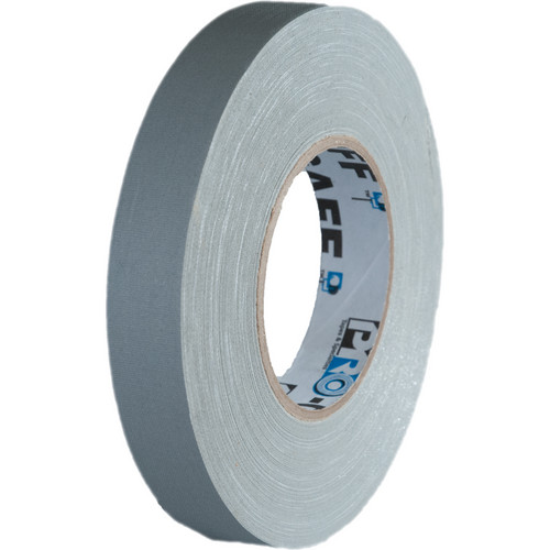 """Visual Departures 1"""" Wide Gaffer Tape (55 yards, Gray)"""
