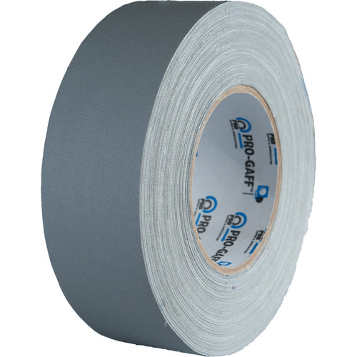 """Visual Departures 2"""" Wide Gaffer Tape (55 yards, Gray)"""