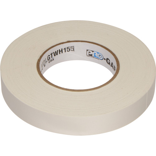 "Visual Departures 1"" Wide Gaffer Tape (55 yards, White)"