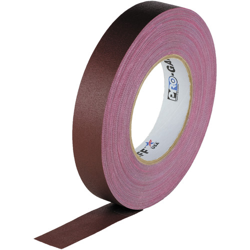 "Visual Departures Gaffer Tape - 1"" x 55 Yards (Burgundy)"