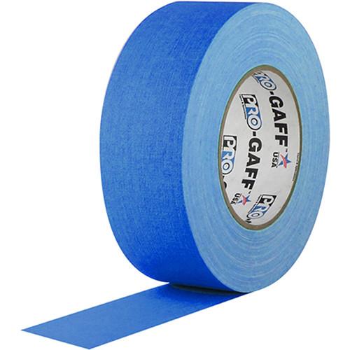 "Visual Departures Gaffer Tape (Fluorescent Blue, 2"" x 50 Yards)"