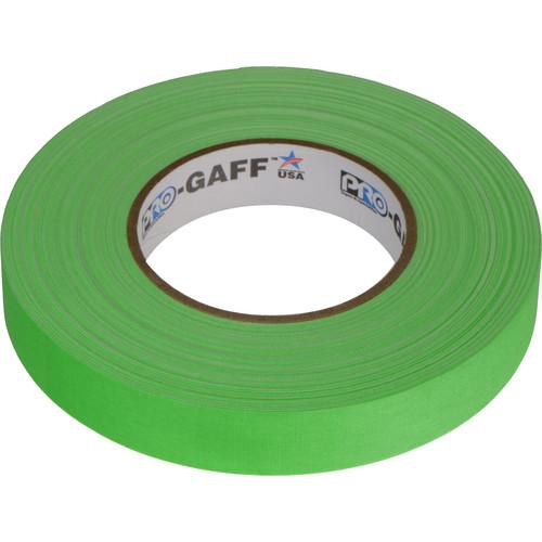 "Visual Departures Gaffer Tape (Fluorescent Green, 1"" x 50 Yards)"