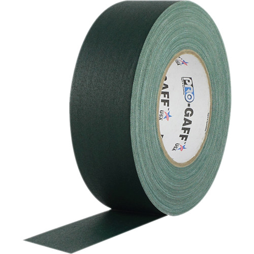 "Visual Departures Gaffer Tape - 2"" x 55 Yards (Green)"