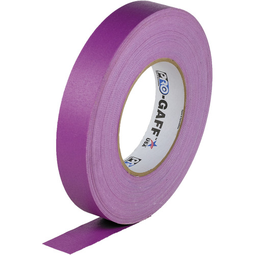 "Visual Departures Gaffer Tape - 1"" x 55 Yards (Purple)"