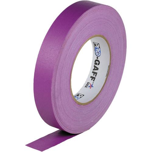 "Visual Departures Gaffer Tape - 1"" x 55 Yards (Purple)"