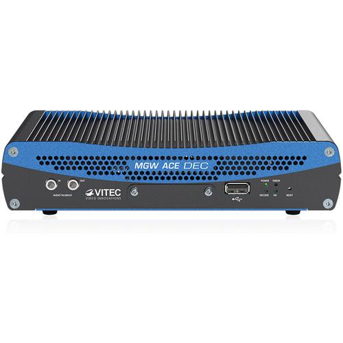 VITEC MGW Pro Portable HEVC/H.265/H.264 Ace Decoder