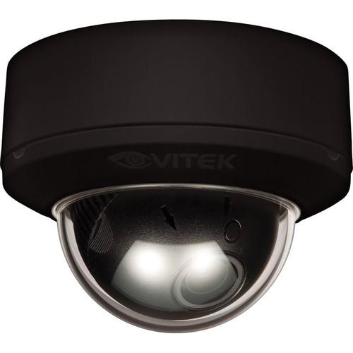 Vitek VTD-MP1850DN/BH Indoor Mighty Dome Day / Night Camera (Black, NTSC)