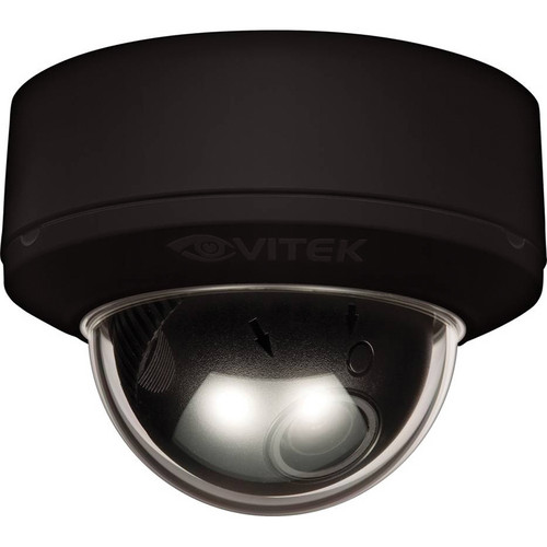 Vitek VTD-MP2810WDR/BH Indoor WDR Mighty Dome Camera (Black, NTSC)