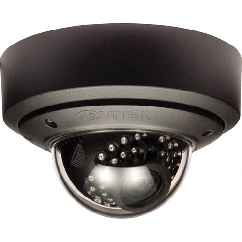 Vitek VTD-MV13VR210NP/B ENVI Series 1.3 Mp IR Mighty Dome PoE Camera (Black)