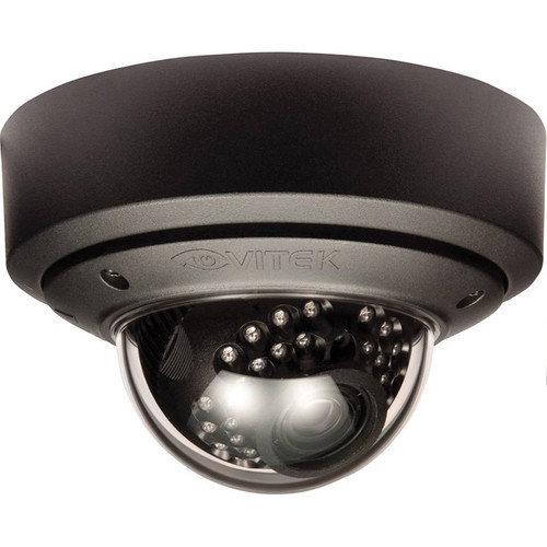 Vitek Outdoor Vandal Proof IR Mighty Dome Camera (Black, 18 to 50mm, NTSC)