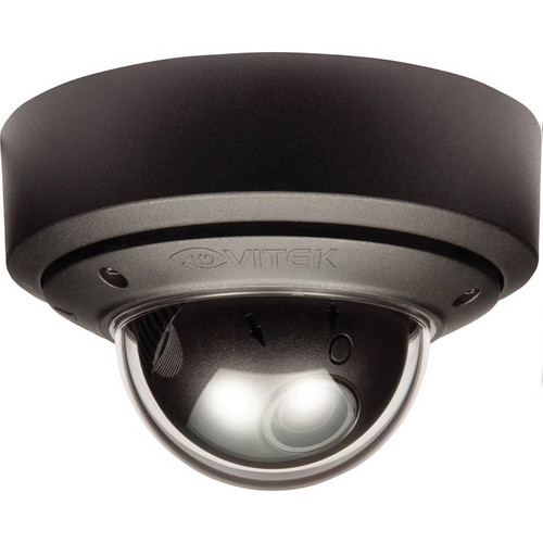 Vitek Outdoor Vandal Proof Day/Night Mighty Dome Camera (Black, NTSC)