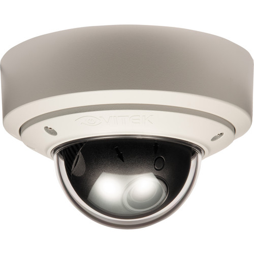 Vitek Outdoor Vandal Proof Day/Night Mighty Dome Camera (White, NTSC)