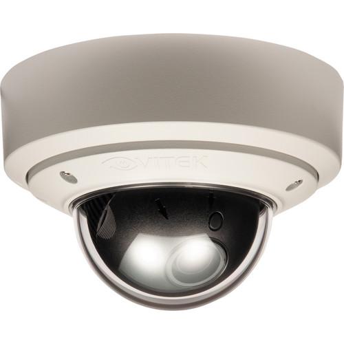 Vitek VTD-MVP922WDR/WHT Vandal Proof WDR Mighty Dome Camera (White, NTSC)