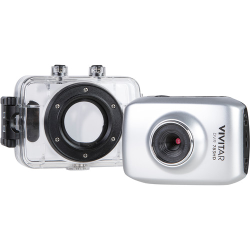 Vivitar DVR 783HD Action Camera (Silver)