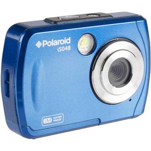 Polaroid iS048 Digital Camera (Blue)