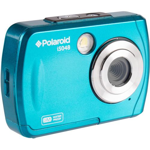 Polaroid iS048 Digital Camera (Teal)