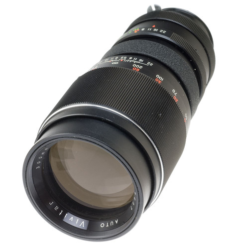 Vivitar Telephoto 300mm f/5.6 Manual Focus Lens for Nikon with Prong